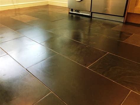 Slate Kitchen Floors Problems by Restoring Damaged Slate Kitchen Tiles In Surrey Cleaning