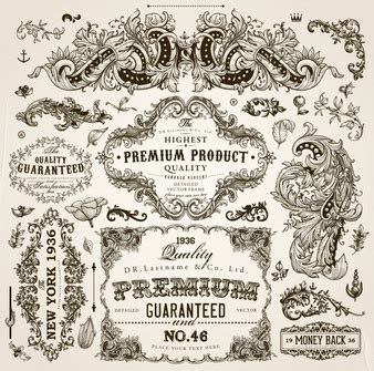 the images collection of vector round label victorian round vintage label vectors photos and psd files free download