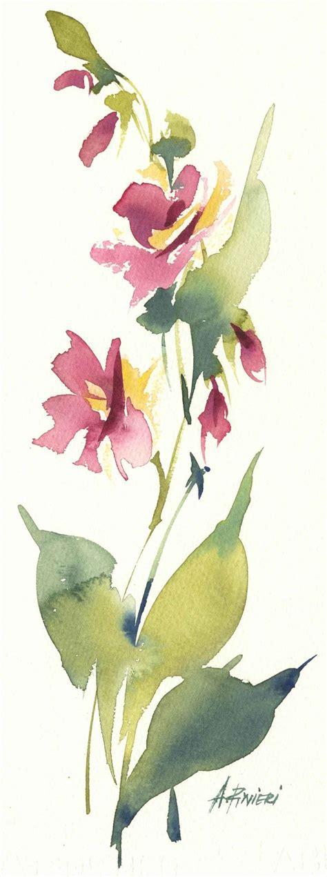 fiori acquarello oltre 25 fantastiche idee su fiore ad acquerello su