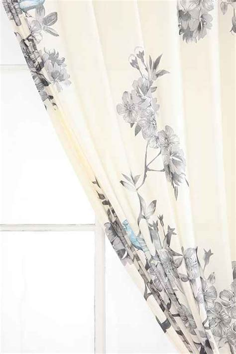 Plum And Bow Curtains Plum Bow Bird Blossom Curtain Outfitters