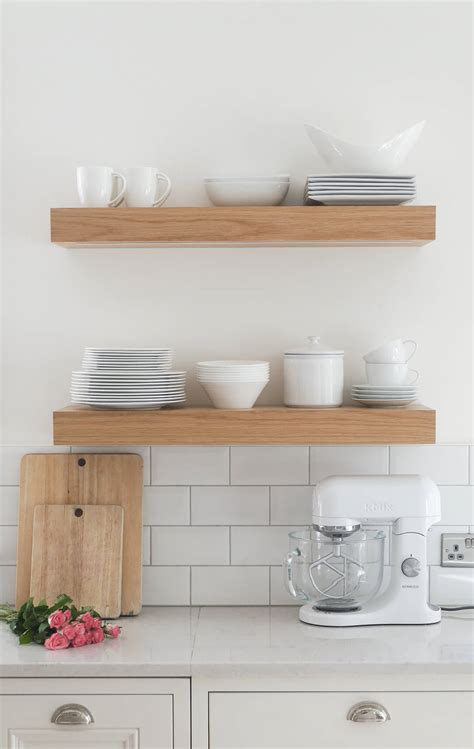 Kitchen Shelf by 3 Ways To Style Open Kitchen Shelves The Green Eyed