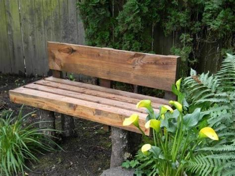 make garden bench 8 diy outdoor bench for garden and patio diy to make