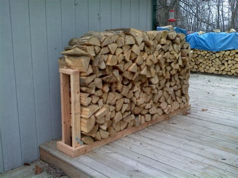 How To Build A Firewood Rack With Roof by Firewood Rack