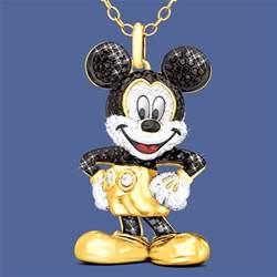 Birthstone Ornaments Mickey Mouse Pendant The Danbury Mint