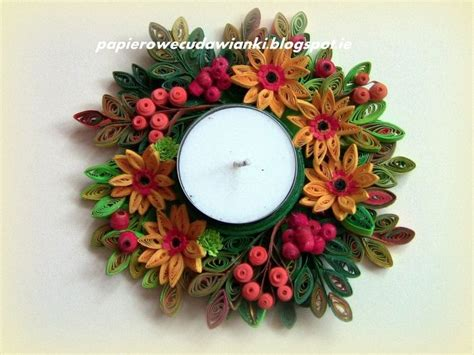 quilling kwiaty tutorial 1000 images about suport pt lumanari on pinterest