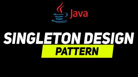 singleton design pattern youtube singleton design pattern in java explained in the easiest