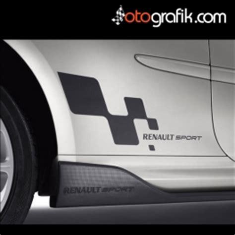 renault sport logo oto sticker set otografik