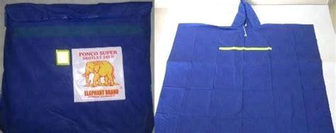 Elephant Ponco Medium 210 Jas Hujan Poncho Dewasa Berkualitas poncho 45 cv putra pundarika