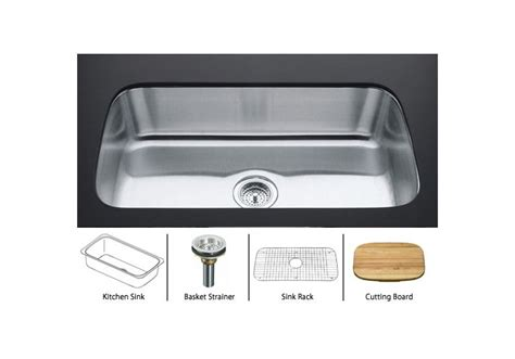 kohler stainless steel sink and faucet package kohler undertone k 3183 package stainless sink polished