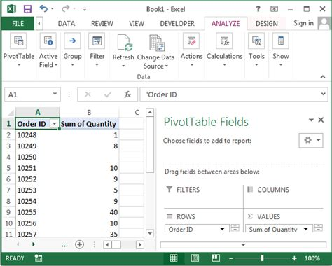 Change Pivot Table Ms Excel 2013 Change How Empty Cells Are Displayed In A Pivot Table
