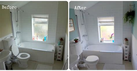 bathroom makeover before and after bathroom makeover before after make do and mend