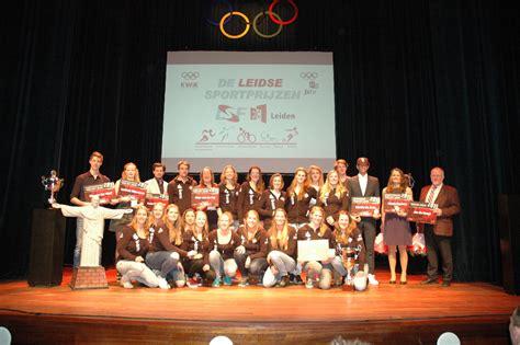roeien leiden studenten winnaars leidse sportprijzen worthy de jong nicole