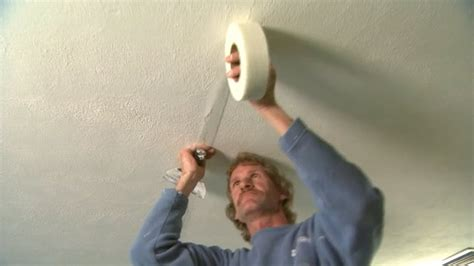 Fixing A In The Ceiling by Drywall Repair Drywall Repair Cracks Ceiling