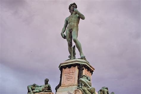 statue of david statue of david at piazzale michelangelo florence 04