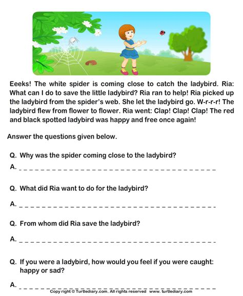 printable english comprehension worksheets for grade 1 grade 1 english comprehension worksheets google search