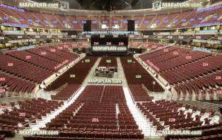 American Airlines Arena Floor Plan honda center view from section 326 row a seat 6