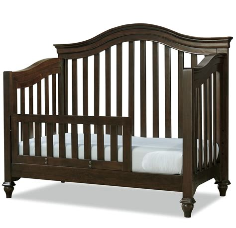 Convertible Cribs With Toddler Rail Smartstuff Classics 4 0 Convertible Crib With Toddler Rail And Arched Back Reeds Furniture Cribs