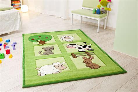 teppich bauernhof kelii kinder teppich bauernhof gr 252 n teppich kinderteppich