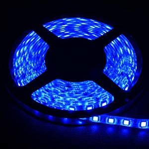Amazon Com 5m Flexible Smd 5050 Waterproof Led Strip 12 Volt Waterproof Led Lights