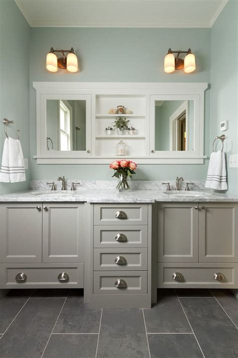 Bathroom Vanity Colors by Best 20 Bathroom Color Schemes Ideas On Green