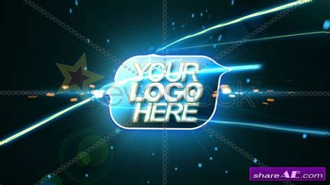 Revostock After Effects Templates logo animation 2 after effects project revostock