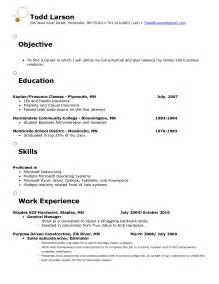 objective for resume in retail sles of resumes