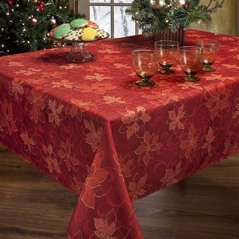 10 stylish tablecloths for christmas mommy today magazine