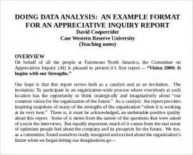 Analysis Report Writing by Data Analysis Report Template 7 Documents In Word Ppt Pdf