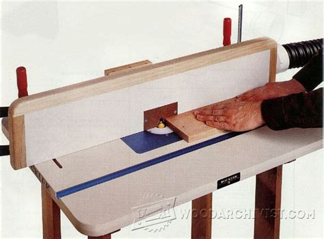 diy router table fence router table fence plans woodarchivist