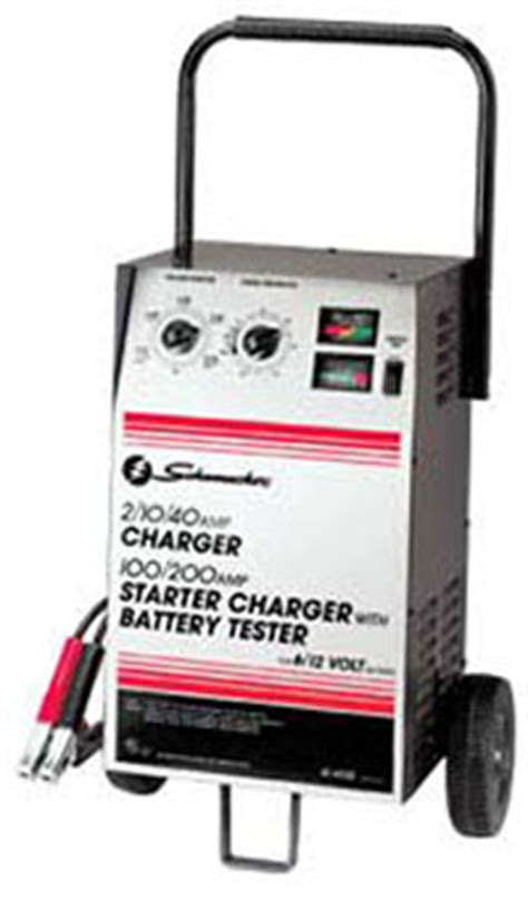 schumacher se series battery charger se 4022 200 100 40 10 2 manual starter schumacher