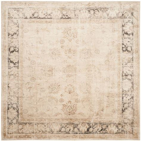 Safavieh Vintage Stone 8 Ft X 8 Ft Square Area Rug 8 Square Area Rugs