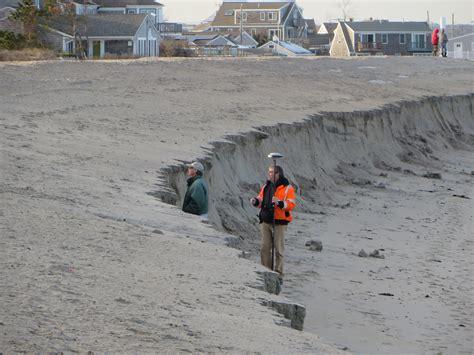 Nantucket Dune sandwich s town neck beach evaluated after weekend storm