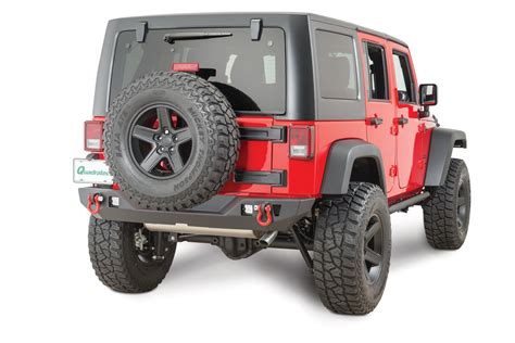 jeep rear bumper jcr offroad crusader rear bumper for 07 18 jeep wrangler