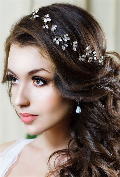 Wedding Hair Tiara by Bridal Headband Headpiece Tiara Wedding