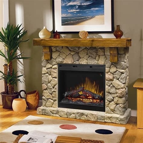 Fieldstone Electric Fireplace by Dimplex Electric Fireplaces 187 Mantels 187 Products
