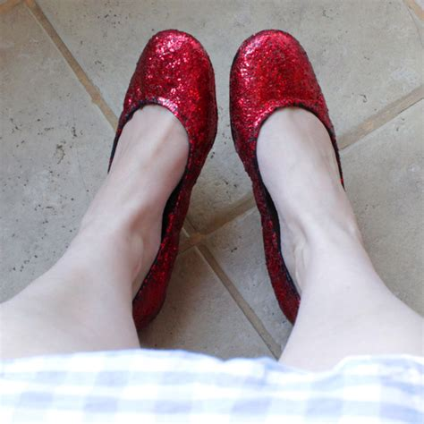 ruby slippers costume how to diy ruby slippers