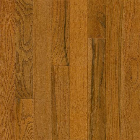 bruce plano oak gunstock 3 4 in thick x 3 1 4 in wide x random length solid hardwood flooring