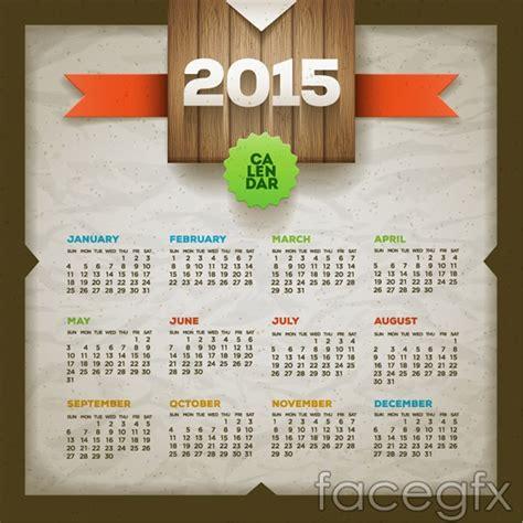 design free calendar 2015 30 adet 220 cretsiz takvim şablonları vekt 246 rleri 2015 psd