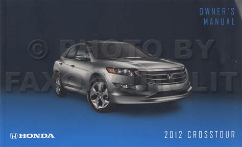 service manuals schematics 2010 honda accord crosstour lane departure warning 2010 2012 honda accord crosstour 6 cyl repair shop manual original 2 volume set
