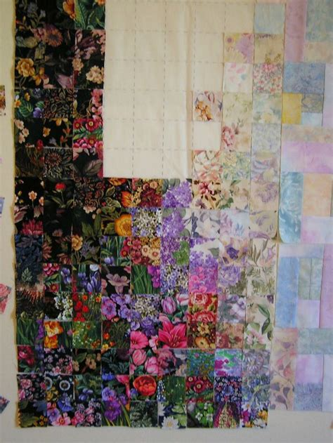 watercolor quilt tutorial how to make a watercolor quilt flower pinterest