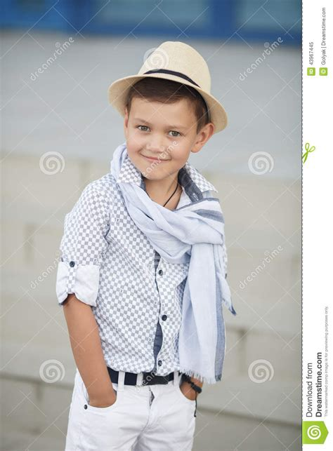 Kid Cuteboy boy happy kid outdoors stock photo image 43967445