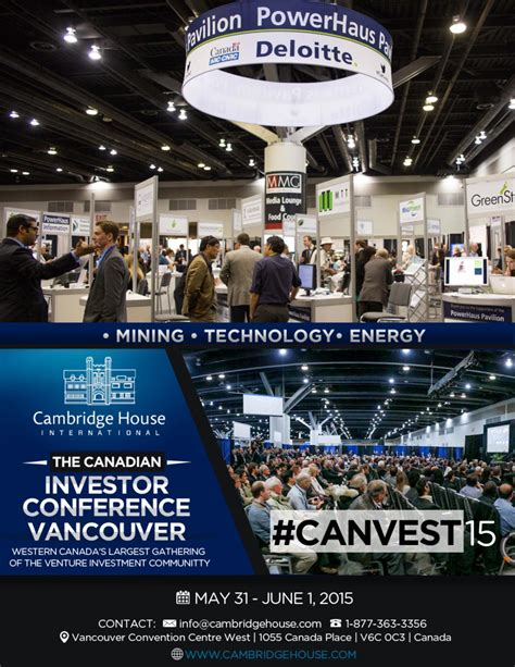 canadian investor conference vancouver 2015 cambridge