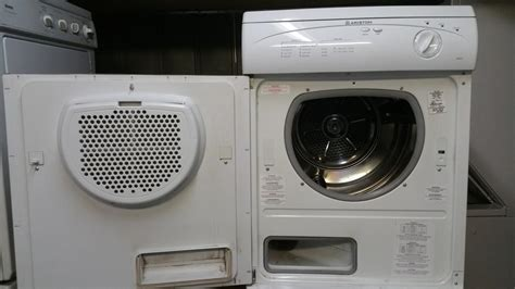 Apartment Size Washer And Dryer Sets Ariston 24 Quot Apartment Sized Stackable Washer Dryer Set