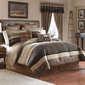 croscill 174 sahara 4 piece reversible king comforter set