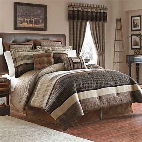 bed bath and beyond king comforter sets croscill 174 sahara 4 piece reversible king comforter set