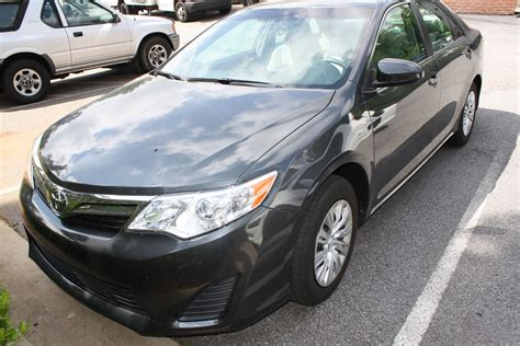2012 Toyota Camry Le 2012 Toyota Camry Le Diminished Value Car Appraisal