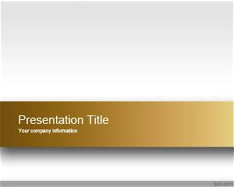 gold template gold engage powerpoint template