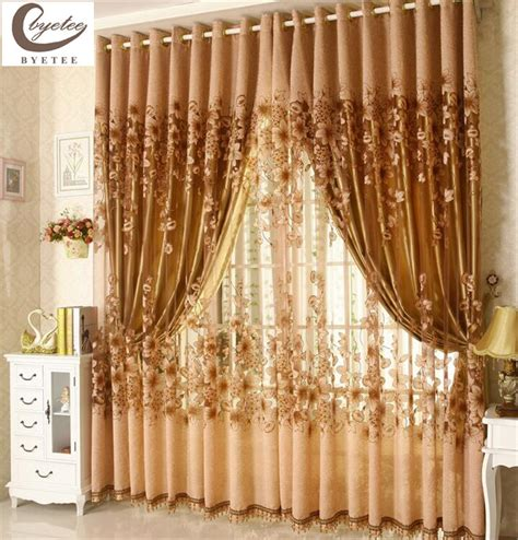 Luxury Window Living Room Tulle Window Curtains Kitchen Luxury Kitchen Curtains