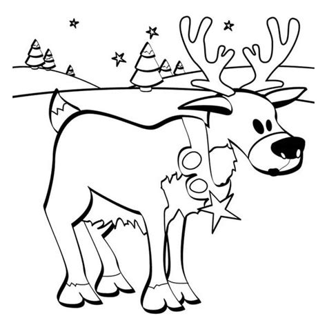 frozen reindeer coloring pages colouring page santas reindeer search results calendar