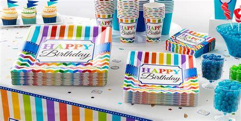 rainbow chevron supplies chevron birthday